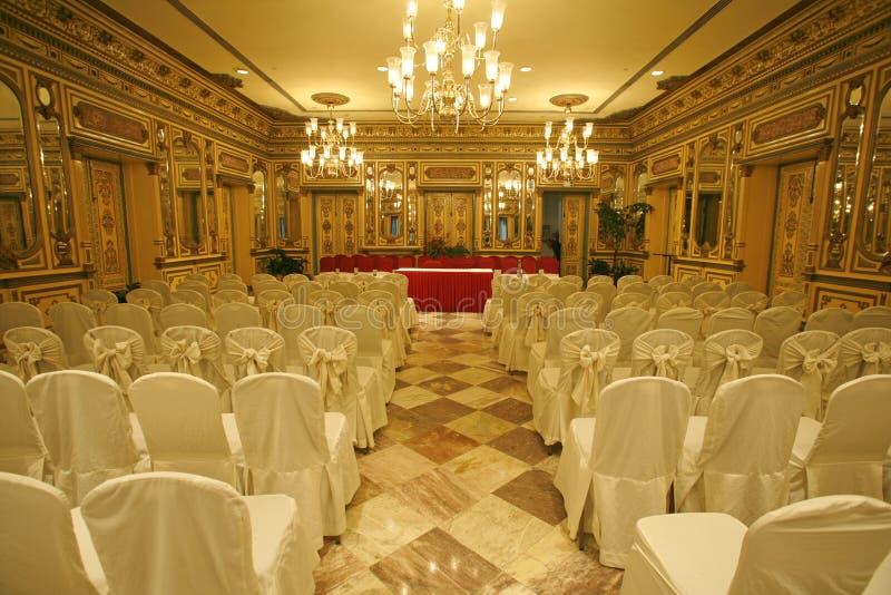 Sala de conferências no hotel foto de stock