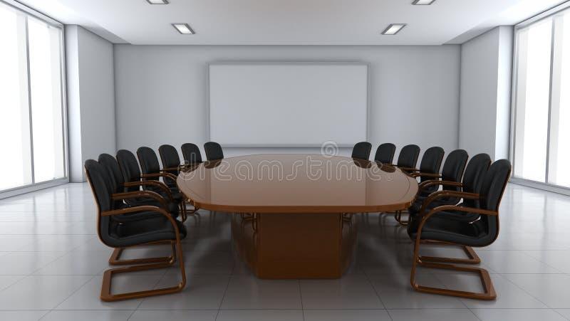 Sala de conferencias ilustración del vector