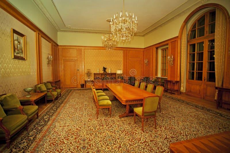 Sala de conferencias clásica imágenes de archivo libres de regalías