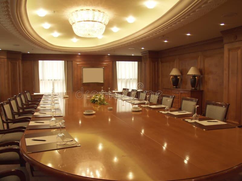 Sala de conferencias vacía foto de archivo