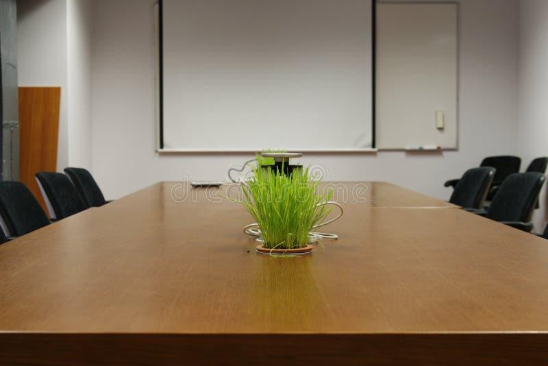 Sala de conferencias vacía de asunto foto de archivo libre de regalías
