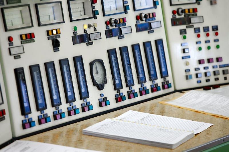 Sala de control fotografía de archivo libre de regalías