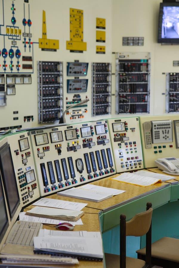 Sala de control imágenes de archivo libres de regalías