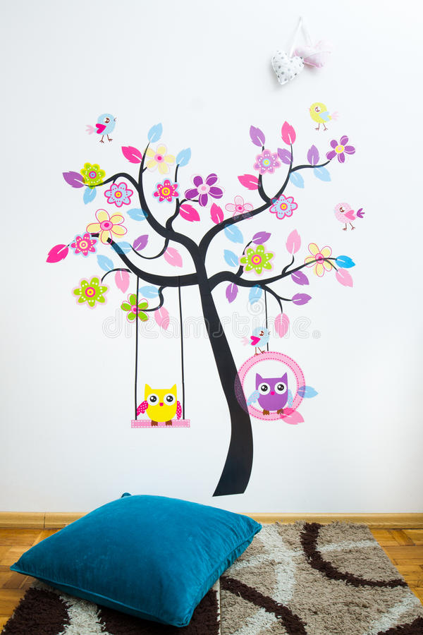 Sala de crianças imagens de stock royalty free