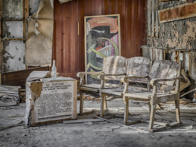 Sala de deterioração foto de stock royalty free