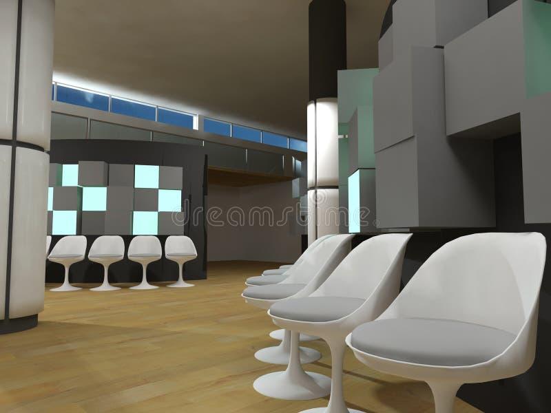 Sala de espera del hospital libre illustration