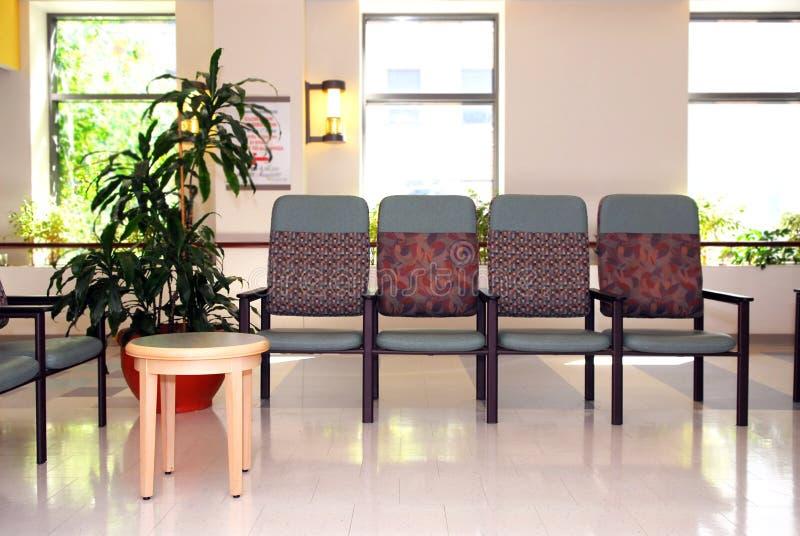 Sala de espera do hospital imagens de stock royalty free