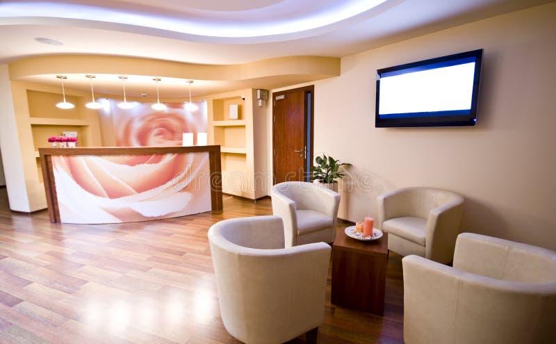 Sala de espera dos TERMAS foto de stock royalty free