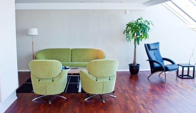 Sala de estar imagen de archivo
