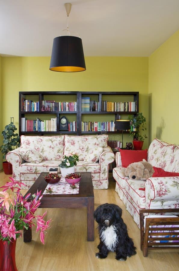Sala de estar foto de archivo