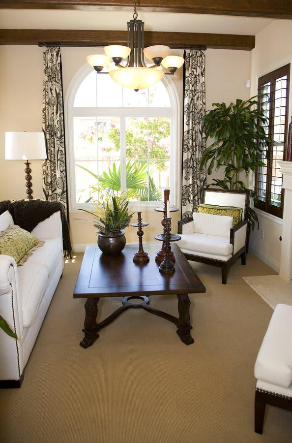 Sala de estar acogedora. fotos de archivo