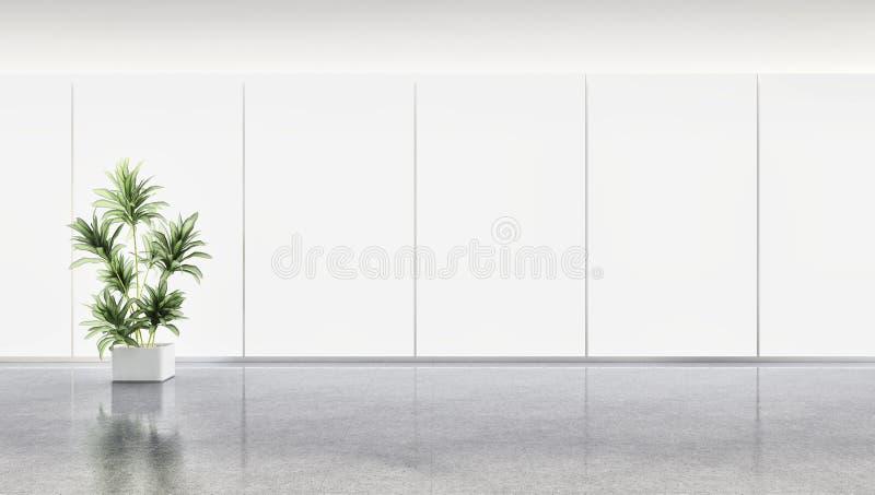 sala de estar brillante moderna de lujo grande del apartamento de los interiores con imagen de archivo libre de regalías