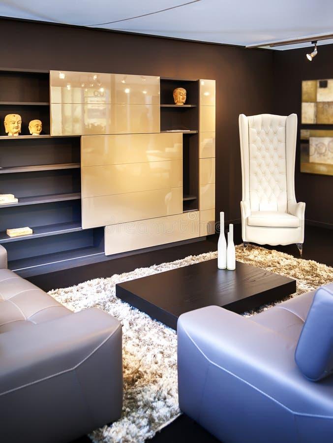 Sala de estar cómoda foto de archivo libre de regalías