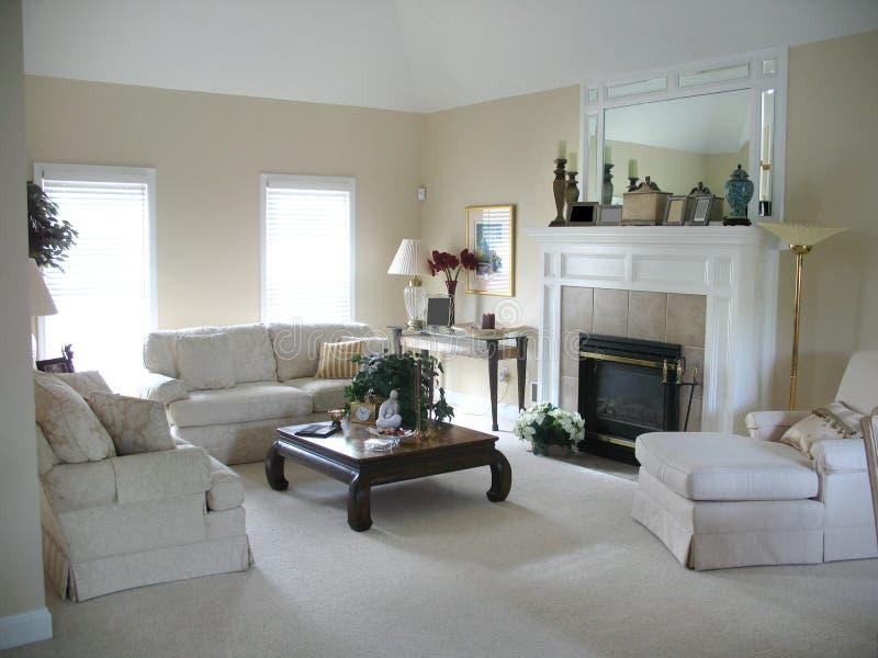 Sala de estar contemporánea imagenes de archivo