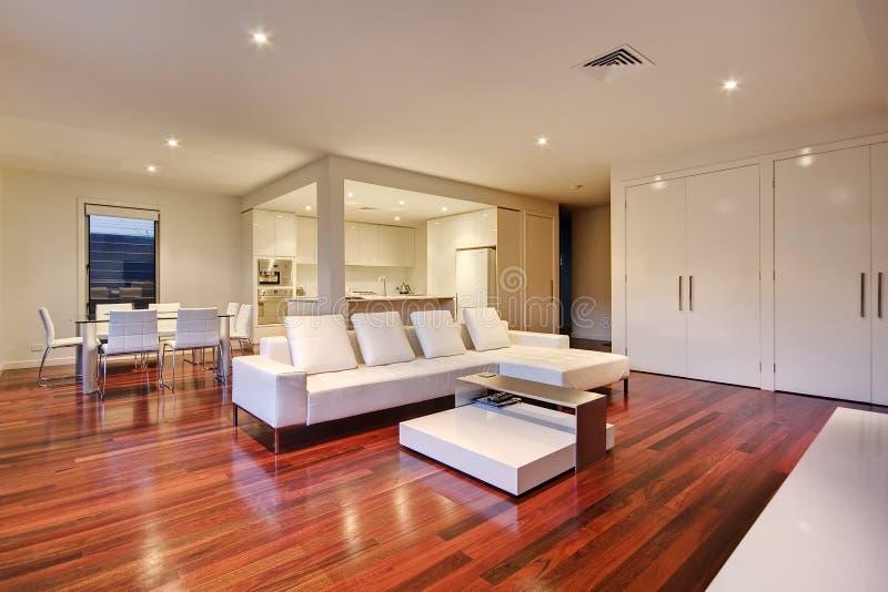 Sala de estar de lujo fotografía de archivo