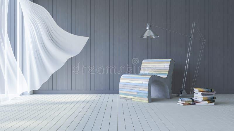 sala de estar del interior 3ds imágenes de archivo libres de regalías