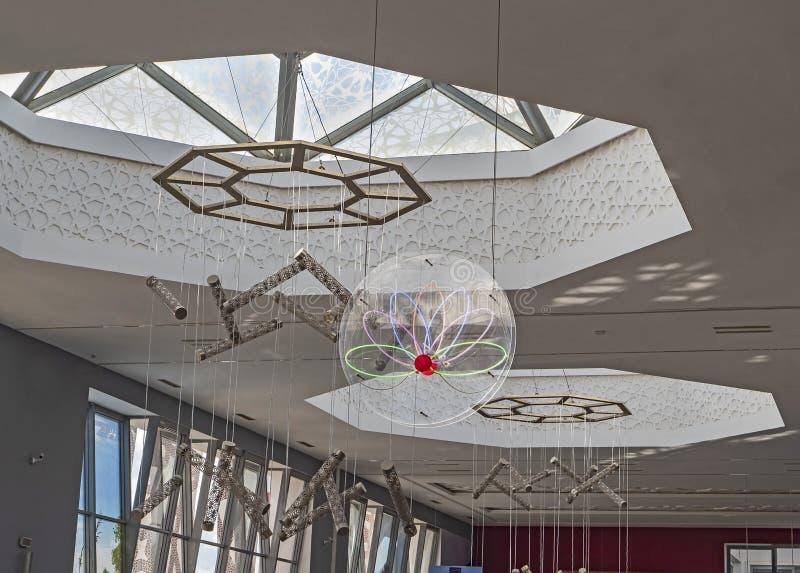 Sala de estar do aeroporto de Fes Sais imagem de stock royalty free