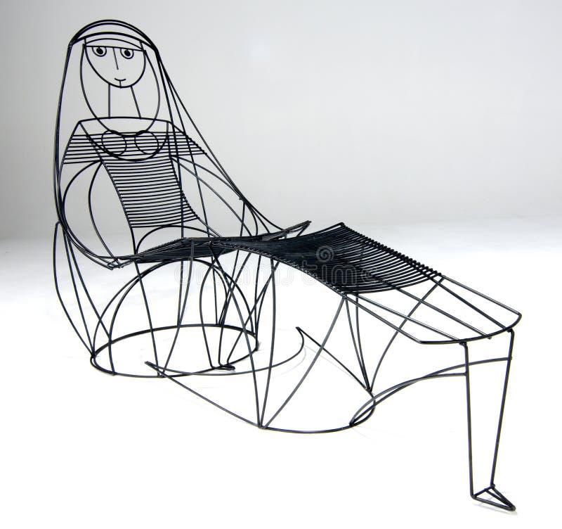 Sala de estar do Chaise imagem de stock royalty free