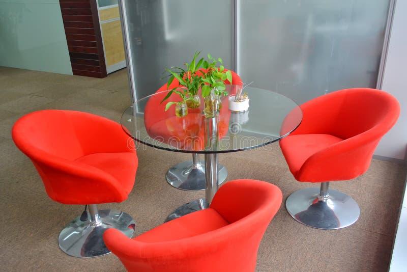 Sala de estar do escritório imagens de stock royalty free