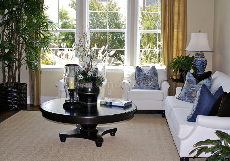Sala de estar elegante imagen de archivo