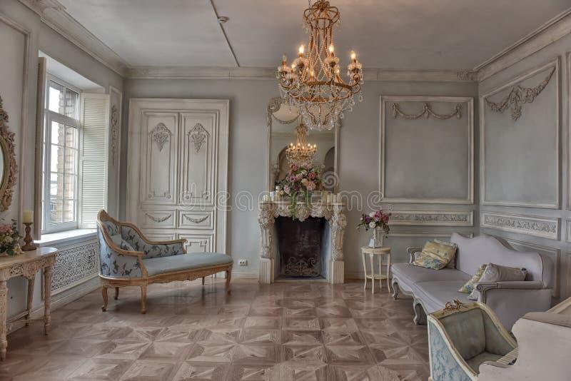 Sala de estar interior elegante hermosa imagen de archivo