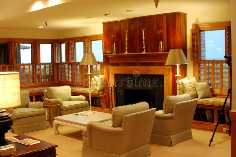 Sala de estar lujosa imágenes de archivo libres de regalías