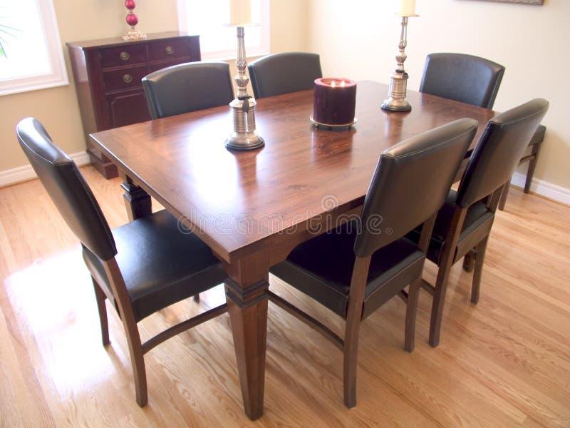 Sala de jantar 03 fotografia de stock royalty free