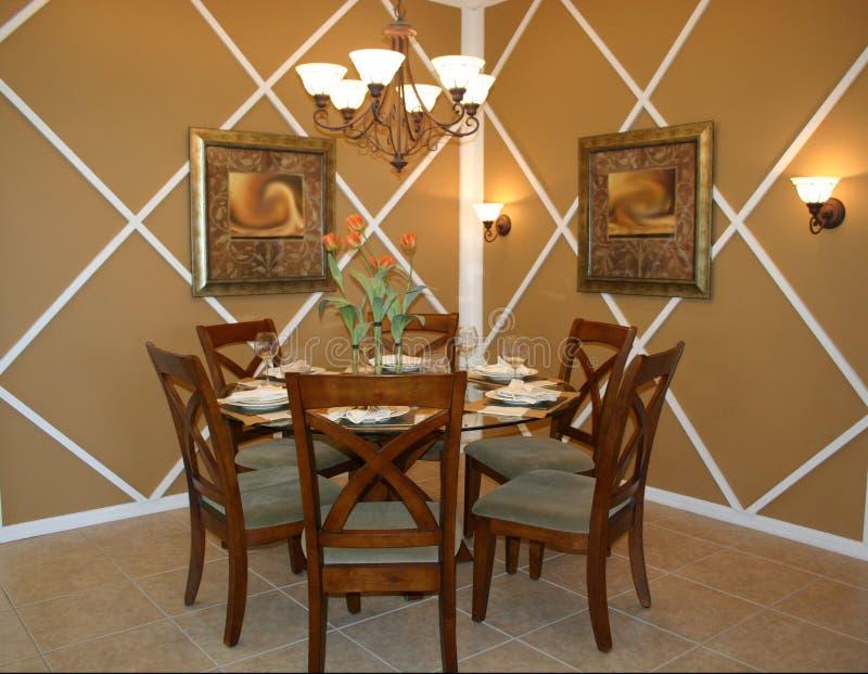 Download Sala de jantar imagem de stock. Imagem de formal, assoalhos - 100977