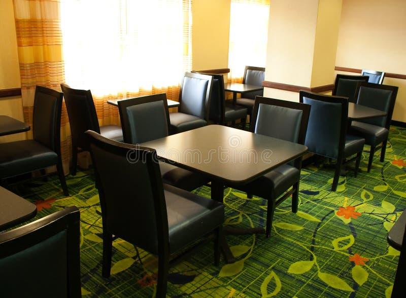 Sala de jantar fotografia de stock
