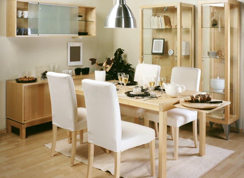 Sala de jantar imagem de stock