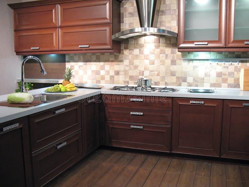 Sala de jantar da cozinha foto de stock