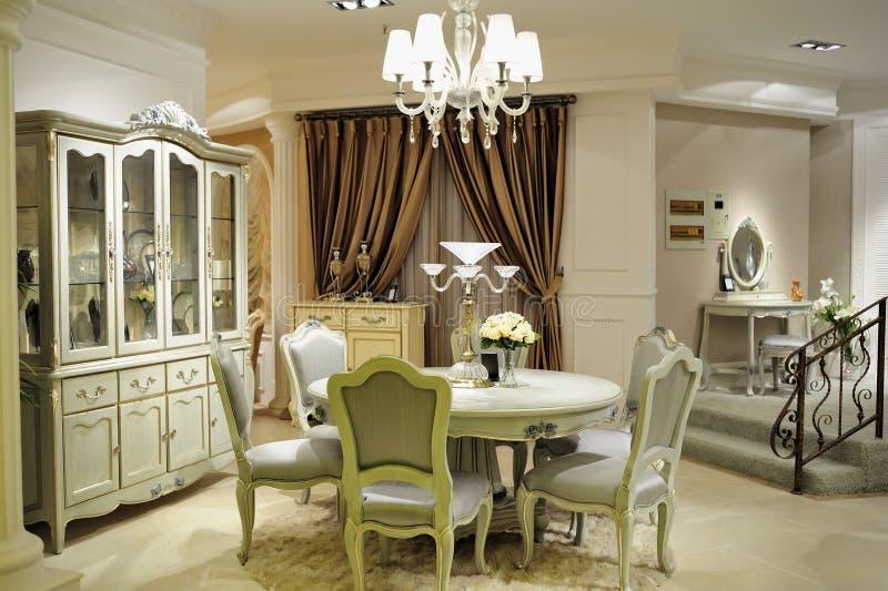 Sala de jantar luxuosa fotos de stock