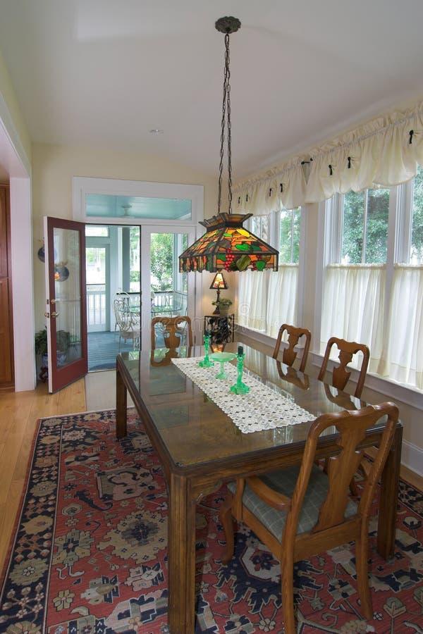 Sala de jantar luxuoso imagens de stock royalty free