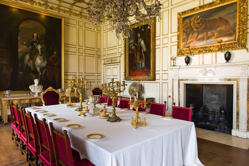 Sala de jantar real foto editorial imagem de detalhes for Sala da pranzo reale
