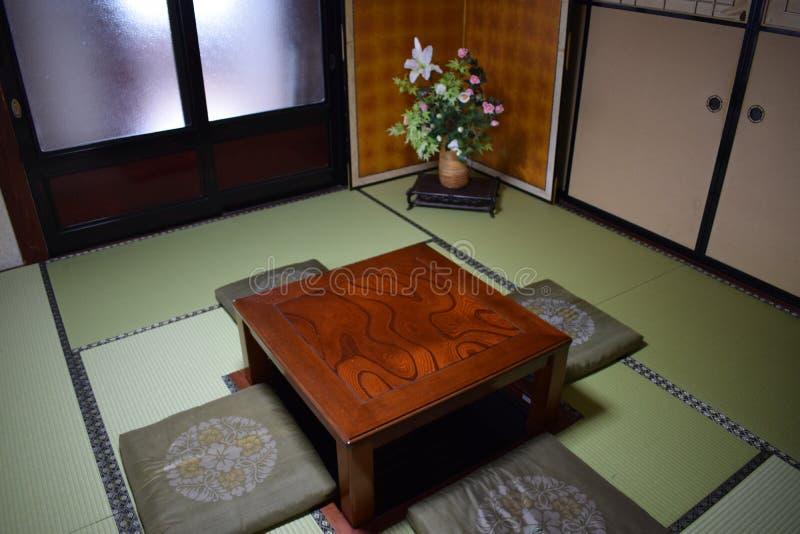 Sala de jantar de uma casa tradicional imagem de stock