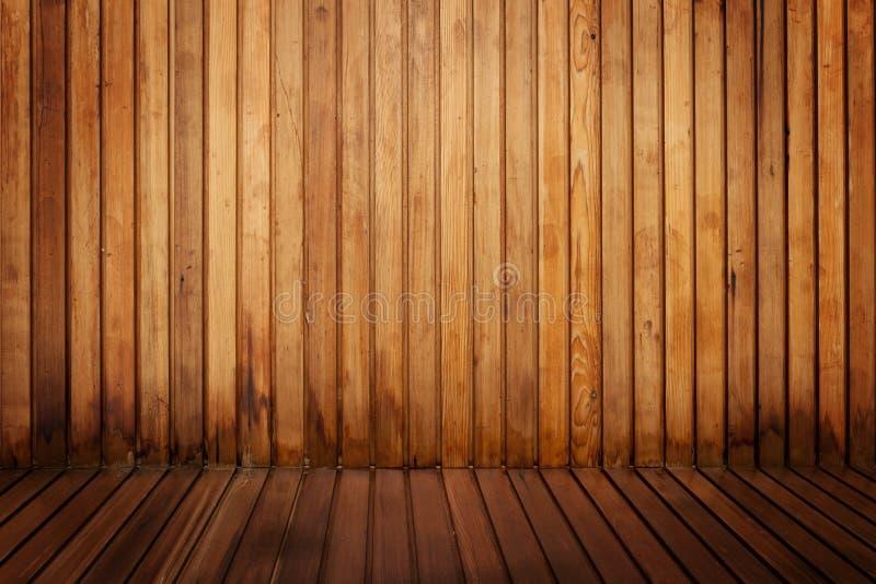 Sala de madeira foto de stock royalty free