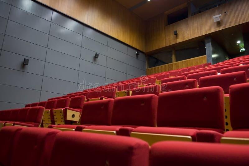 Sala de mando de un teatro foto de archivo libre de regalías