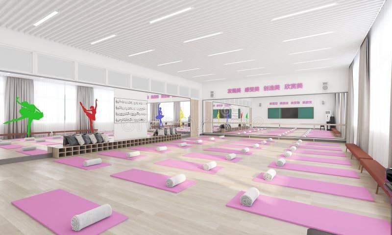 Sala de meditación fotografía de archivo