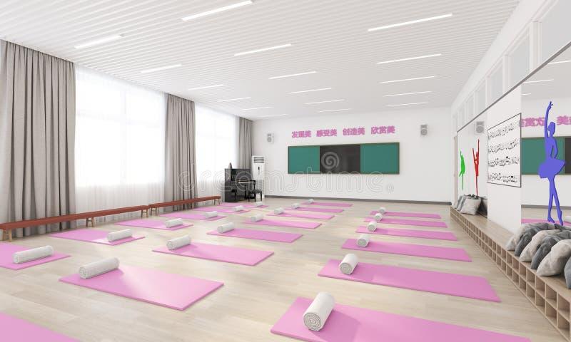 Sala de meditación imagenes de archivo