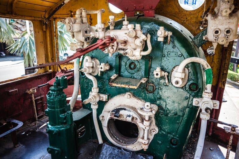 Sala de motor do vapor fotos de stock