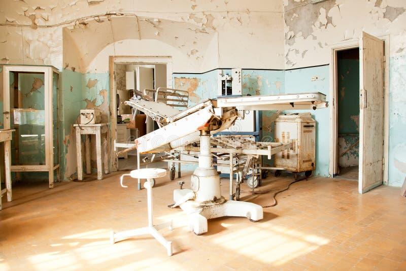 Sala de operações velha imagem de stock