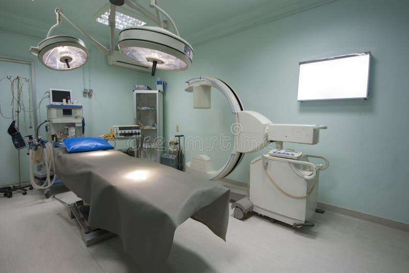 Sala de operaciones en un centro médico imágenes de archivo libres de regalías