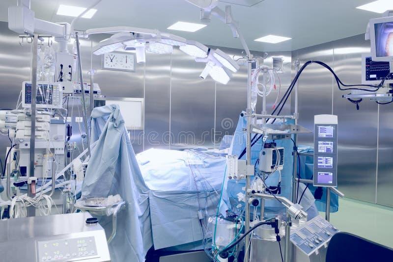 Sala de operaciones quirúrgica fotografía de archivo