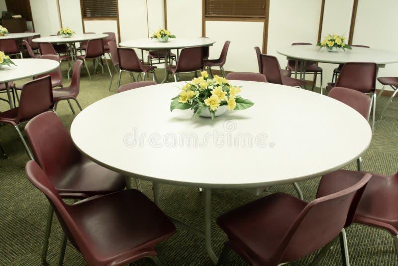 Sala de reunión que espera para ser utilizado fotografía de archivo