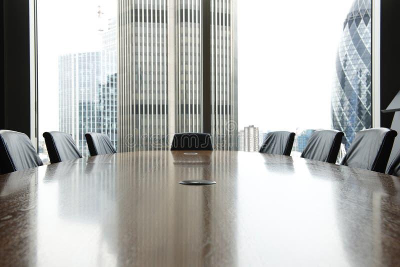 Sala de reuniões fotografia de stock