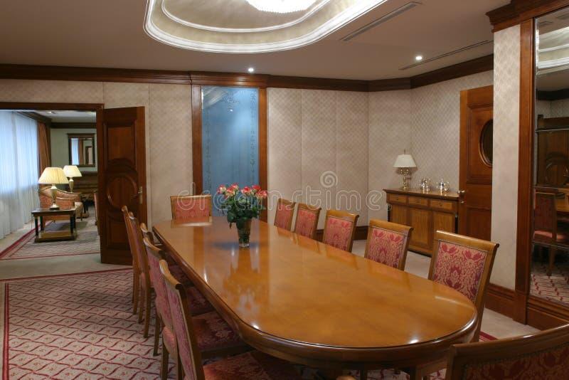 Sala de reuniões imagens de stock royalty free