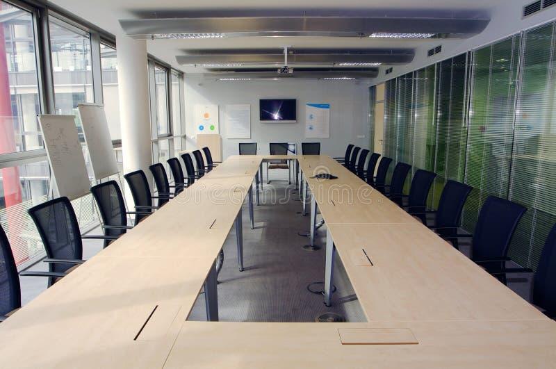Sala de reuniões moderna fotos de stock