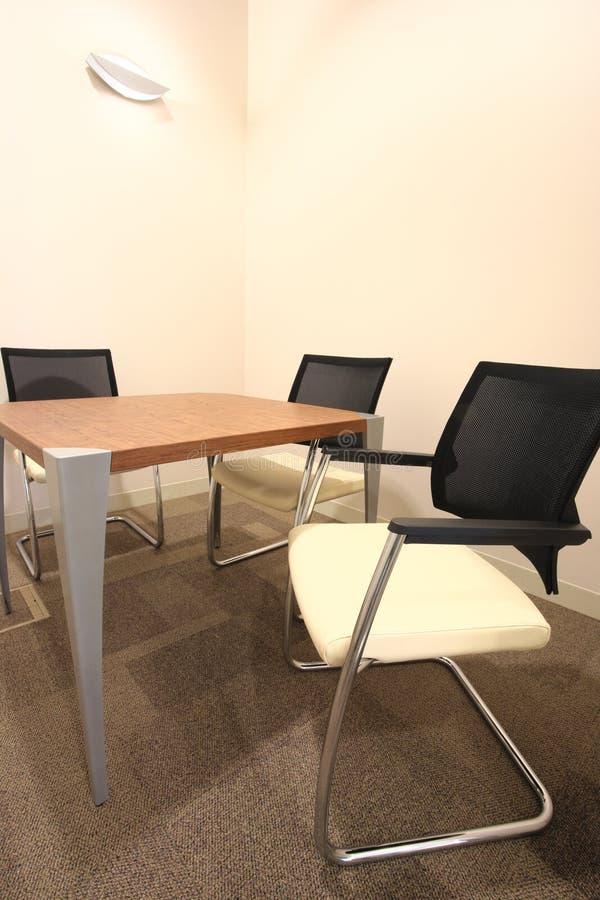 Sala de reuniões pequena imagem de stock