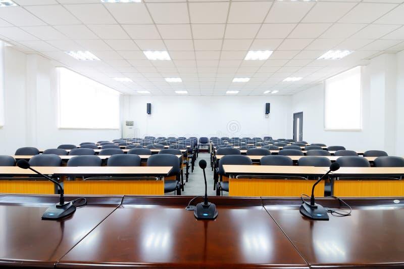 Sala de reuniões vazia imagens de stock royalty free