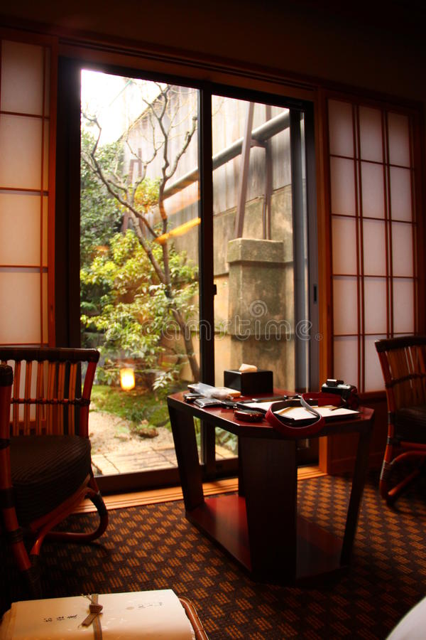 Sala de Ryokan fotos de stock royalty free